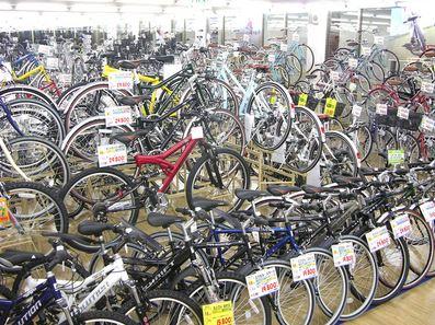 ホームセンター自転車