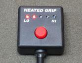 グリップヒータープッシュ式スイッチ