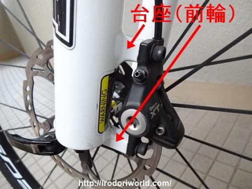 自転車のディスクブレーキの ...